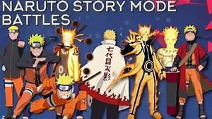 Naruto Story Mode Battles  Showcase  Naruto Shippuden