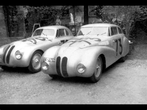 1940 Bmw 328 At Mille Miglia Coupe And Kamm Racing