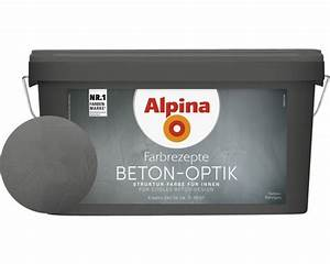 Beton Pigmente Hornbach : alpina effektfarbe beton optik komplett set grau ink ~ Michelbontemps.com Haus und Dekorationen