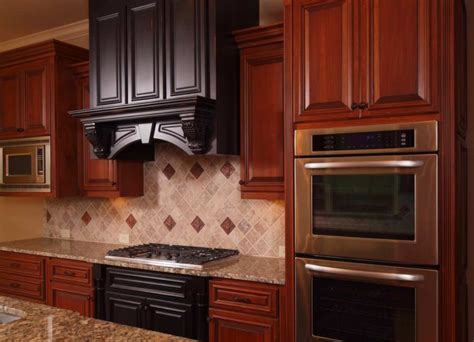 wood color paint for kitchen cabinets cherry wood kitchen cabinets paint color tedx designs 2131
