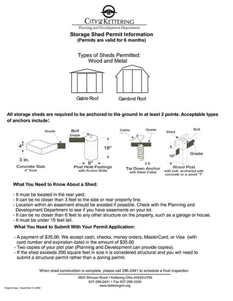 Building Permit Shed by Shed Plans For Building Permit