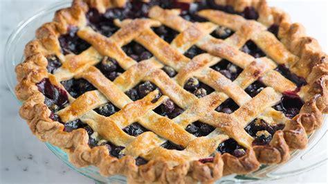 homemade blueberry pie easy blueberry pie