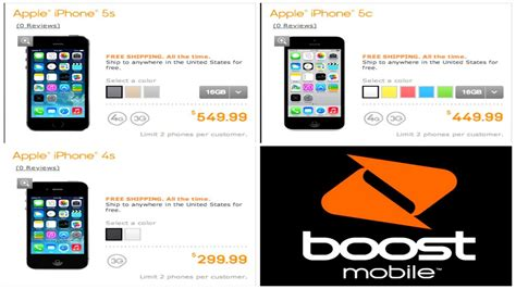 boostmobile iphone 5s iphone 5s and iphone 5c boost mobile official price
