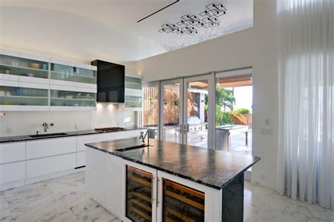 Tropical Modern Resort Home  Tropical  Kitchen Miami