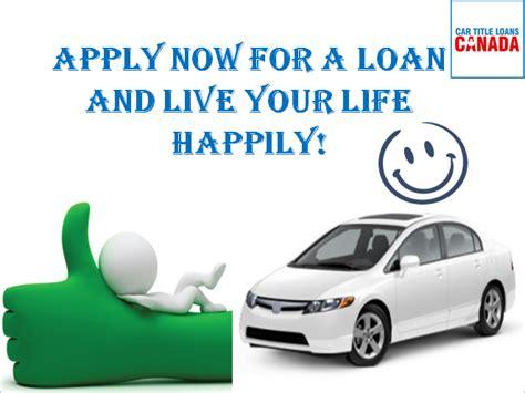 Get Car Title Loans Prince Edward Island