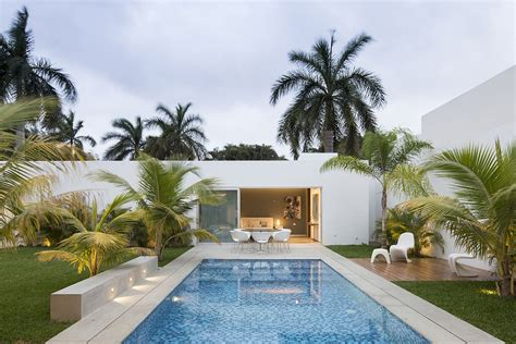 front yard pools this contemporary house in yucatan is designed for the perfect staycation