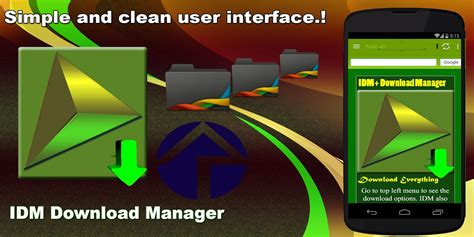 Idm internet download manager is an imposing application which can be used for downloading the multimedia content from internet. IDM Download Manager Unlocked   Android Apk Mods