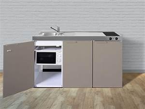 Stengel minikuche pantrykuche single kuche 150cm beige for Pantryküche
