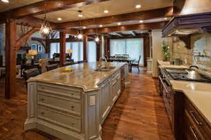 country farmhouse plans luxury timber frame traditional kitchen vancouver
