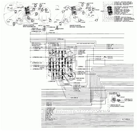 1989 Chevy 10 Wiring Diagram by Fuse Box 1984 Chevy Truck Fuse Box And Wiring Diagram