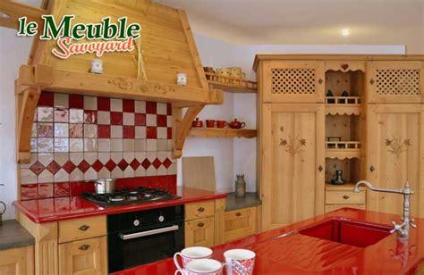 savoyard cuisine impressionnant meuble savoyard jean de sixt 2 meuble de cuisine style montagne chaios