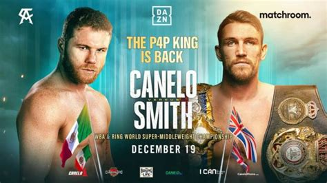 Canelo Alvarez next fight date set for December 19 - faces ...