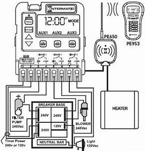 intermatic programmable pool timer mode applications With pool pump wiring