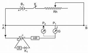 Write The Principle Of Working Of A Potentiometer