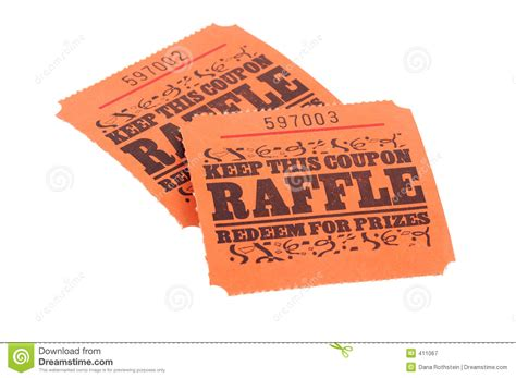Raffle Tickets Royalty Free Stock Photography