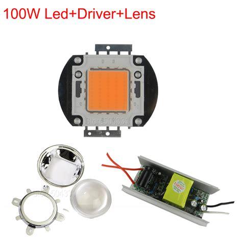 led grow light kits aliexpress com buy diy led grow light kit 100w full
