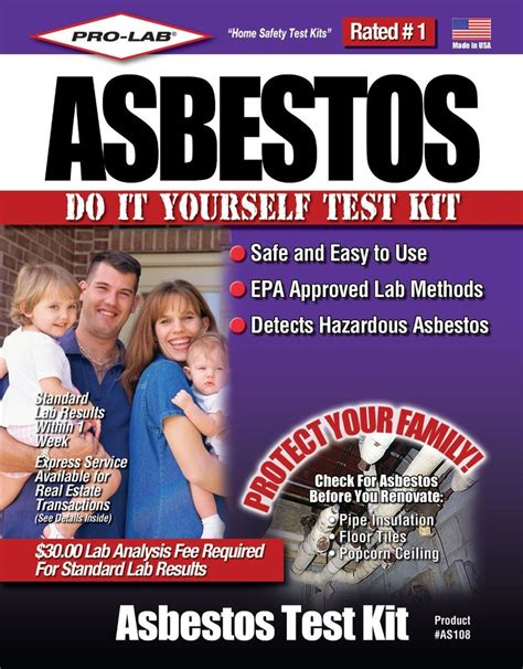 pro lab   asbestos test kit lifeandhomecom