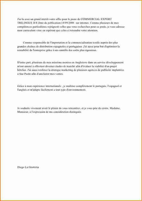 lettre de motivation secretaire debutant 5 lettre de motivation commercial d 233 butant exemple lettres