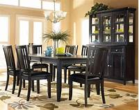 black dining room table Dining Room Furniture with Various Designs Available ...