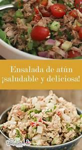esta ensalada de atun es saludable y deliciosa With 2 recetas de saludable atun vegano