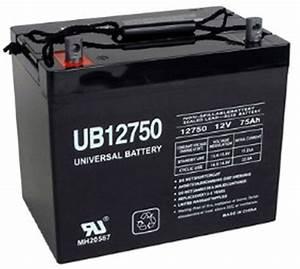 Batterie 12 Volts : ub12750 sla battery 12 volt 75 amp hour ~ Farleysfitness.com Idées de Décoration