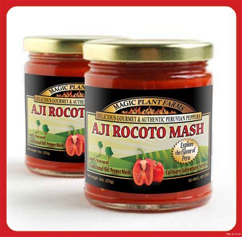 rocoto sauce aji rocoto mash 9oz jar rocoto paste