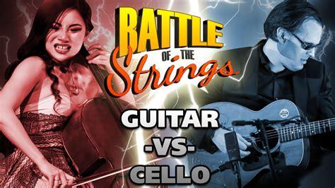 epic battle of the strings joe bonamassa vs tina guo best guitarist vs best cellist youtube