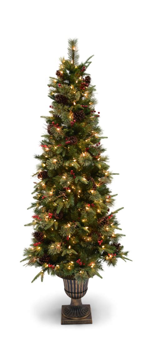 artificial christmas trees rochester ny pine 6 5 pre lit artificial tree hom furniture