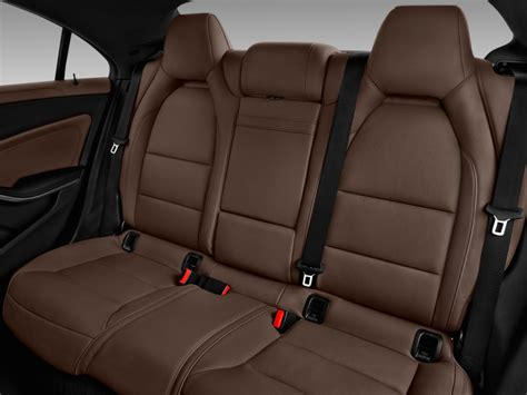 image  mercedes benz cla cla coupe rear seats
