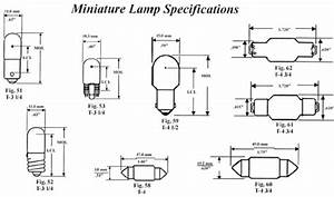 Auto Bulb Replacement Chart Automotive Bulb Bases And Filaments