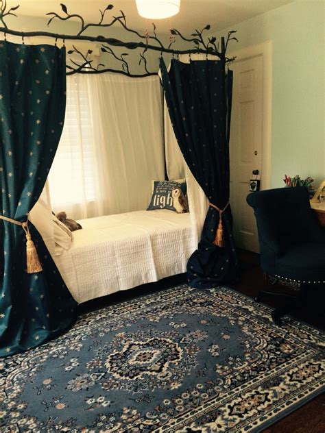 Inspired Bedrooms by Ravenclaw Inspired Bedroom Ravenclaw Inspired Bedroom In