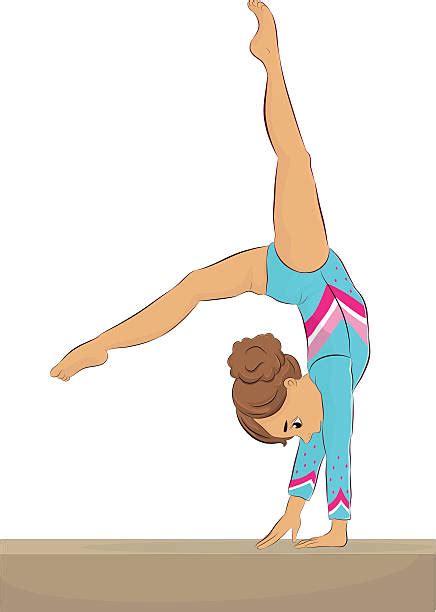 gymnastics clipart gymnast clipart person balance pencil and in color