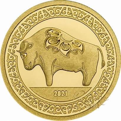 Ox Coin Proof Lunar Mongolia Coins 5g