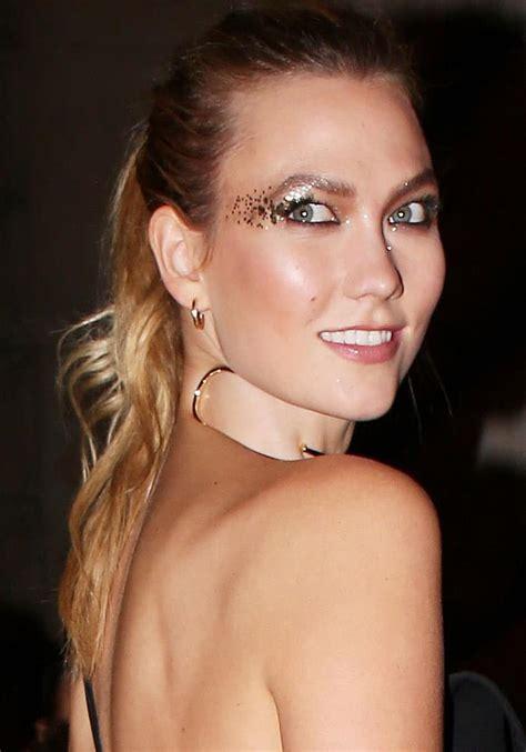 Karlie Kloss Wears Eye Glitter Giuseppe Zanotti