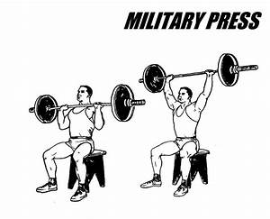 Military Press, Barbell Shoulder Press Exercise