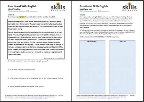 skills workshop worksheets general resources skills workshop