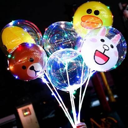 Balloons Led Balloon Cartoon Bobo Luminous Night