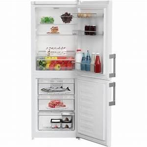 Lec T5039 50  50 Manual Defrost Fridge Freezer - White