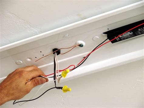 replacing a ballast in a fluorescent light fixture how to replace a light fixture ballast