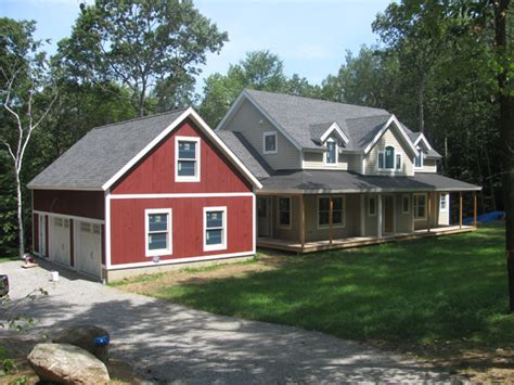 Timber Frame Barn Home Kits