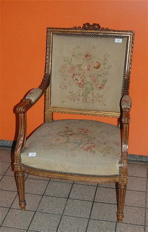 fauteuil sculpt 233 napol 233 on iii de style louis xvi