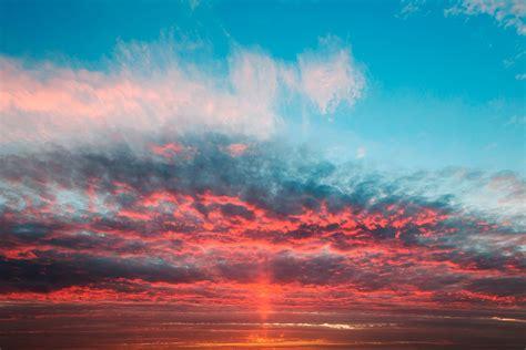 wallpaper twilight horizon cloud sky hd widescreen