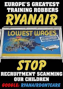 Ryanair Don't Care week of action (commencing March 12th 2012)