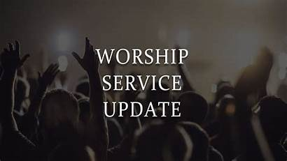 Worship Update Sunday Church Services Sanctuary Christ