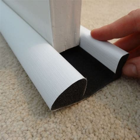 diall foam pvc covering  adhesive draught excluder