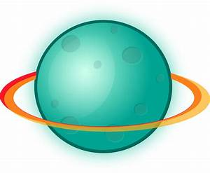 Clipart - Planet with rings