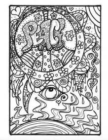 hippie coloring pages for adults download