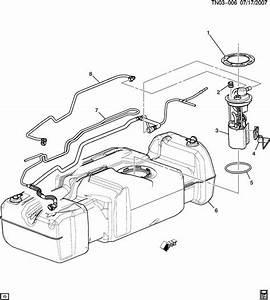 2004 Fuel Level Sensor 6 0l V8 19167486 88965384