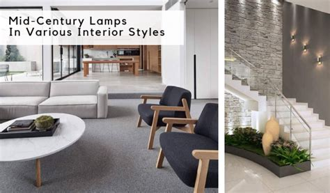 Mid-century Lamps For Different Interior Styles