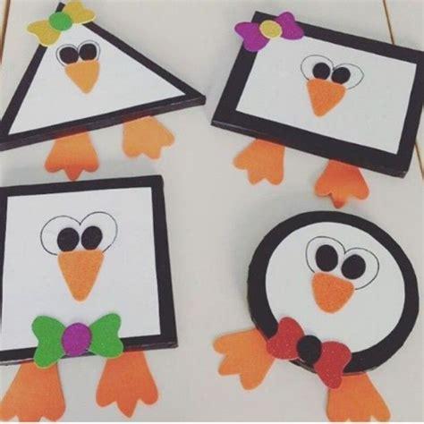 best 25 penguin craft ideas on pinguin craft 248 | f70146e1f5ab7273b9545c6bf0f8b2c8 kids shapes learning shapes